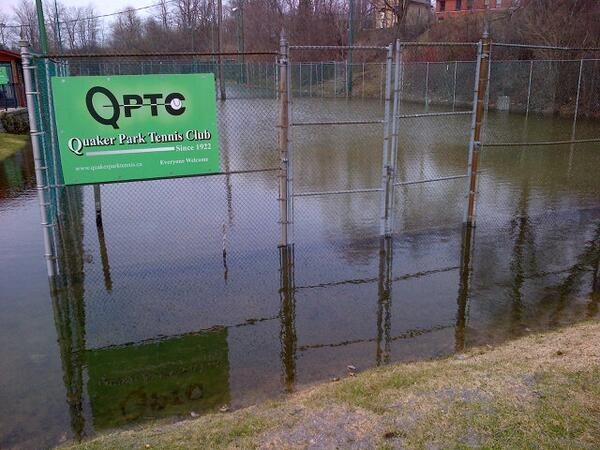 Quaker Park Tennis Club, pic via @TVCPtbo