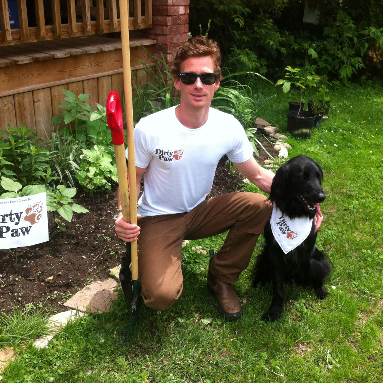 Aran and Scout (picture via @DirtyPawPTBO)