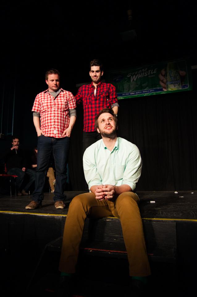 From left: Mantown's Jason DeRosse, Adam & Rob