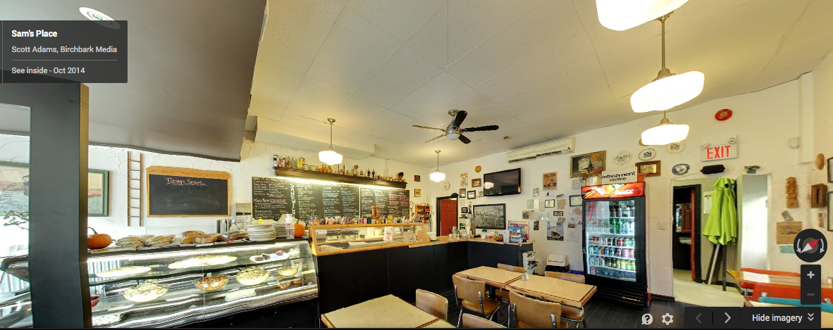 Sam's Place Google Business View