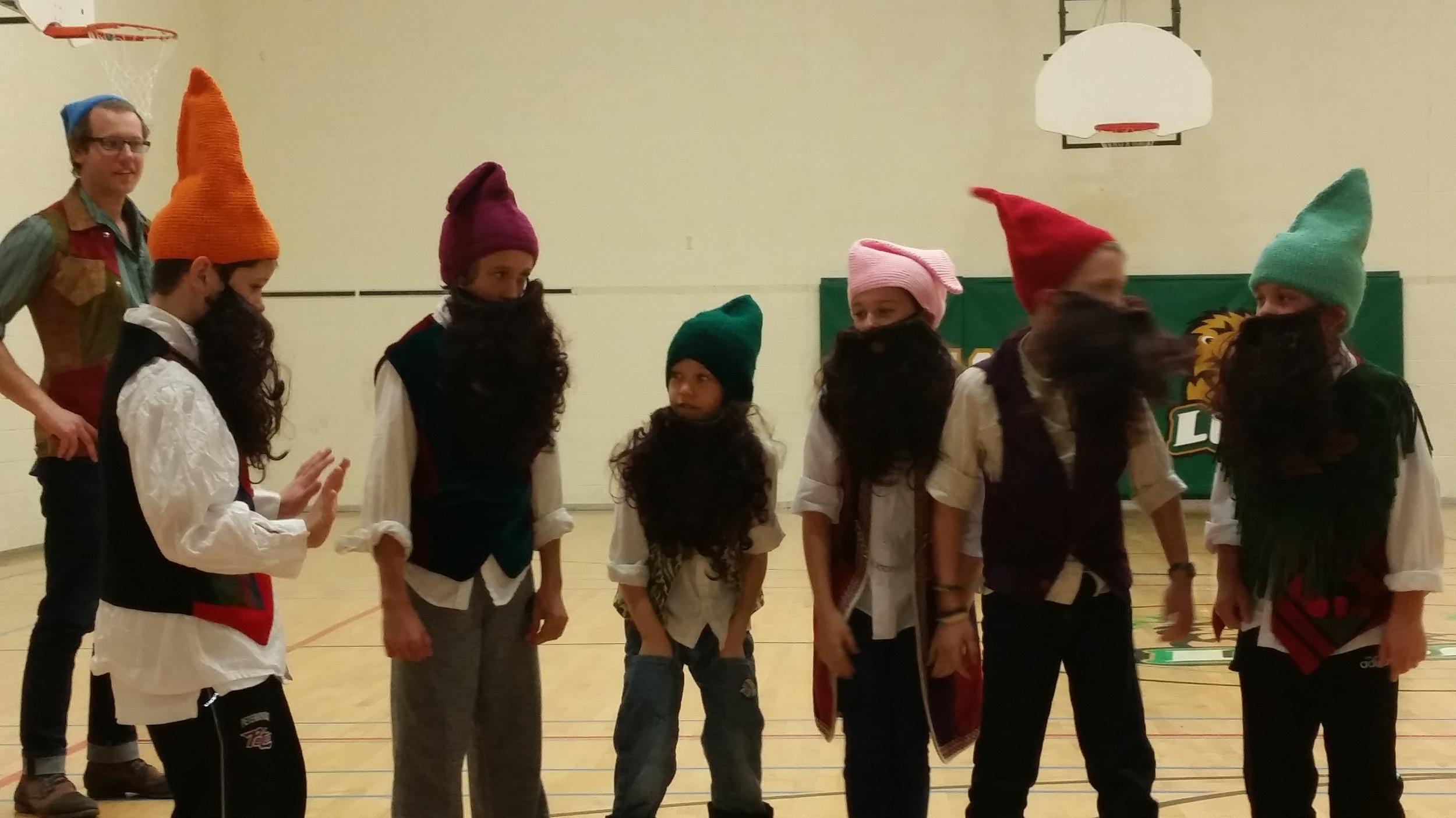 Rehearsal for  Snow White & The Seven Dwarves