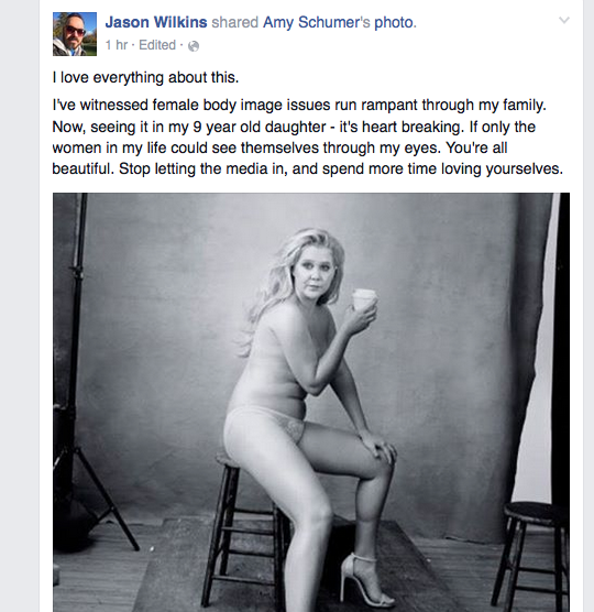 Jason's Facebook post