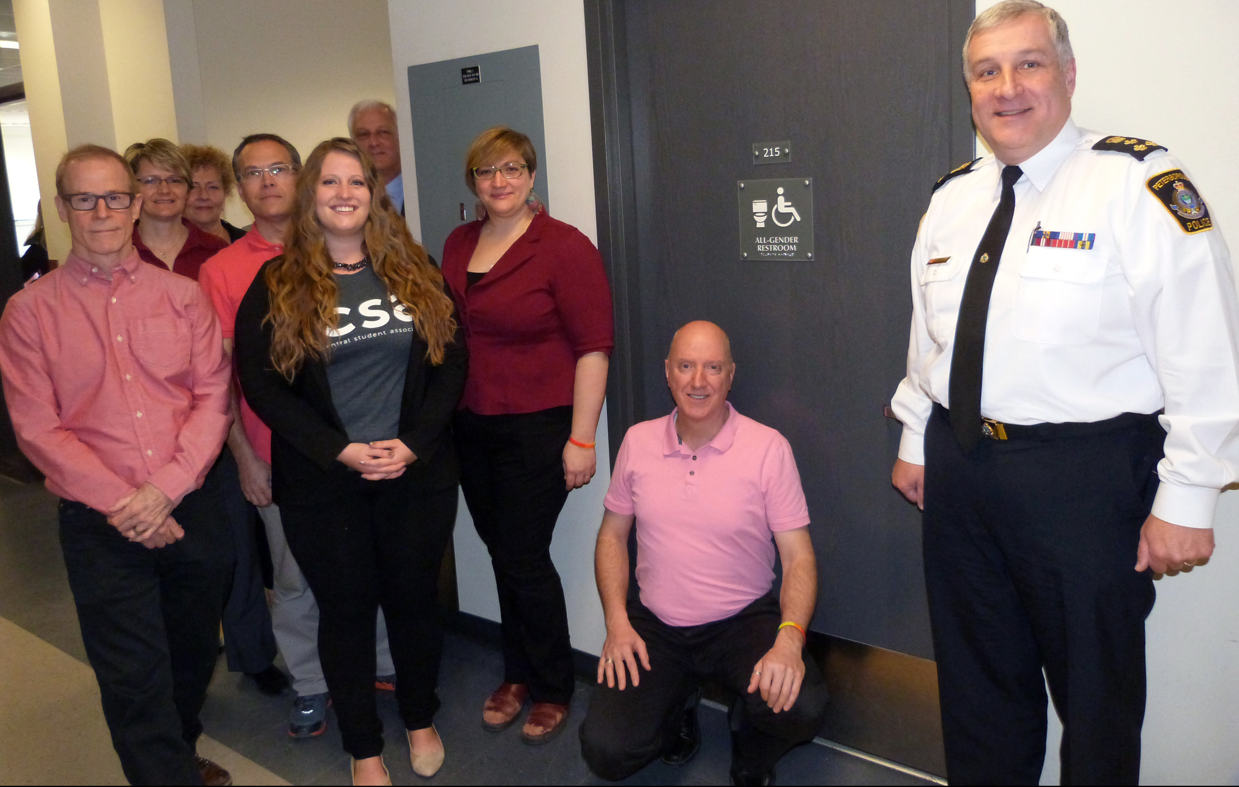 Chief Murray Rodd pictured with Police community partners