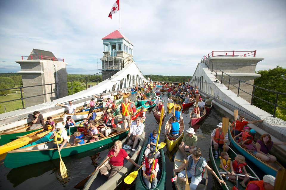 Photo via Canadian Canoe Museum/Trent-Severn Waterway