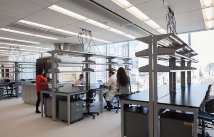 Science lab rendering supplied by Fleming College