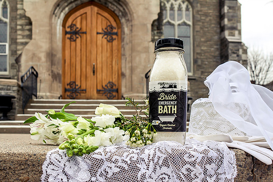 """Bride Emergency"": Product shoot for Walton Wood Farm"