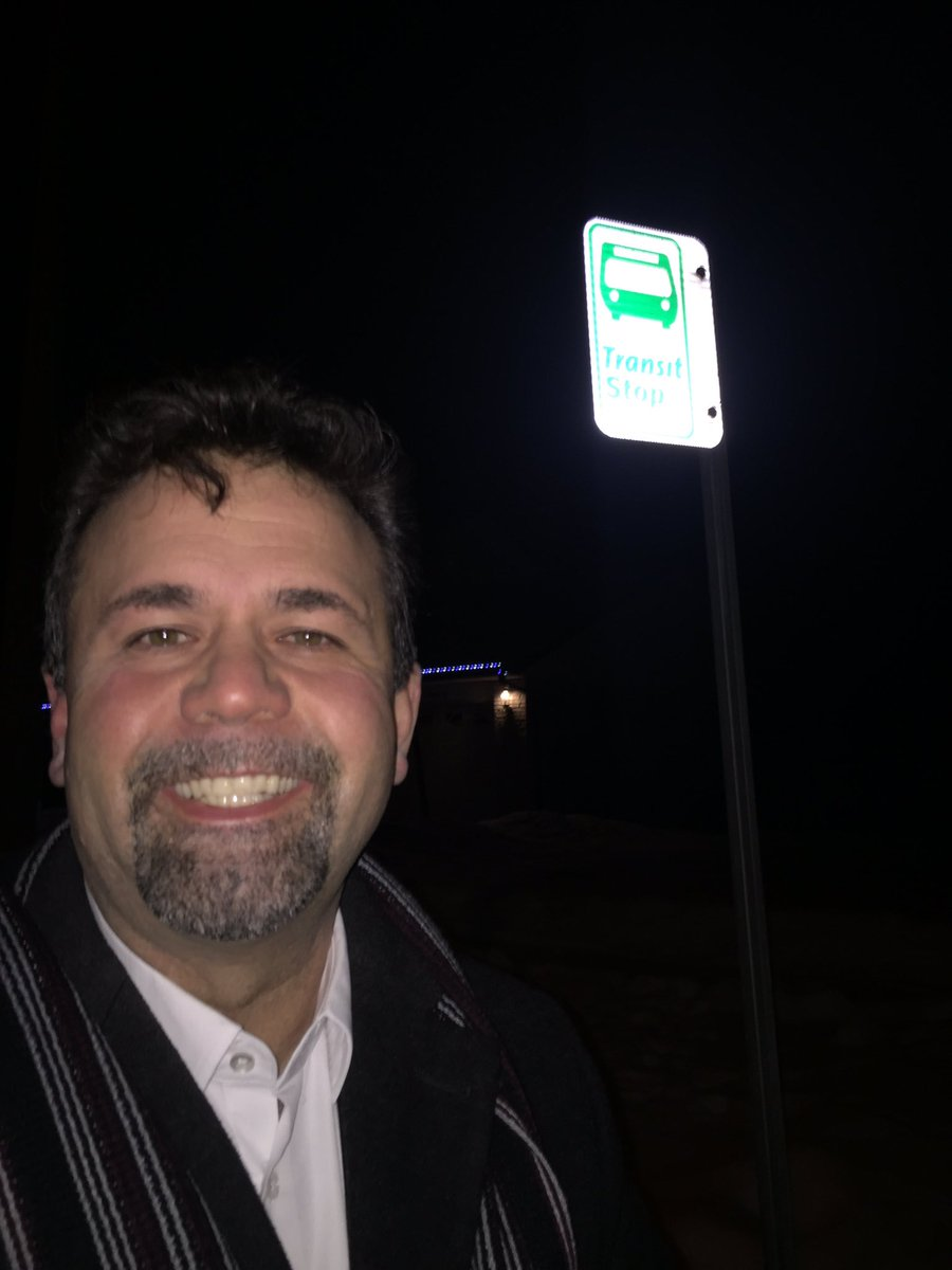 Councillor  Don Vassiliadis  on New Year's Eve