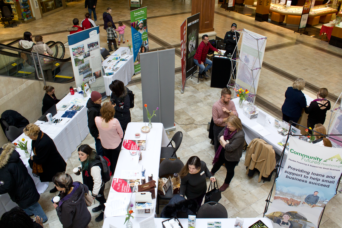 PED's Start and Grow Fair at Lansdowne Place Sunday, March 5th, where announcement was made about Starter Company Plus Program