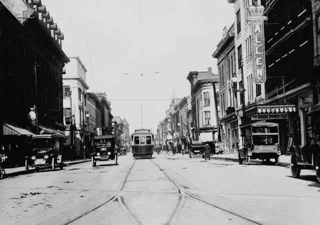 George St. north from Charloltte, Peterborough 1931