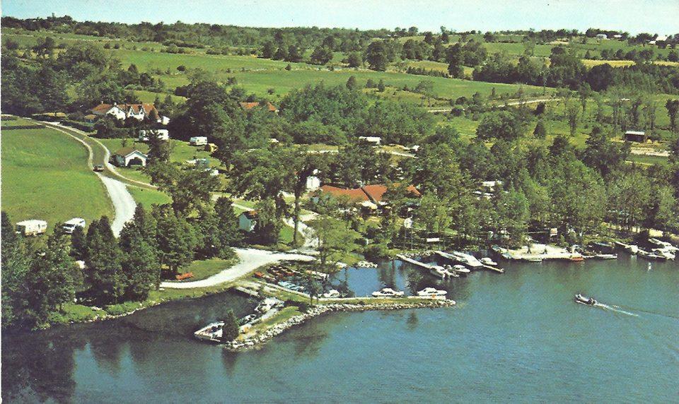 Pratt's marina, Chemong Lake ca.1966