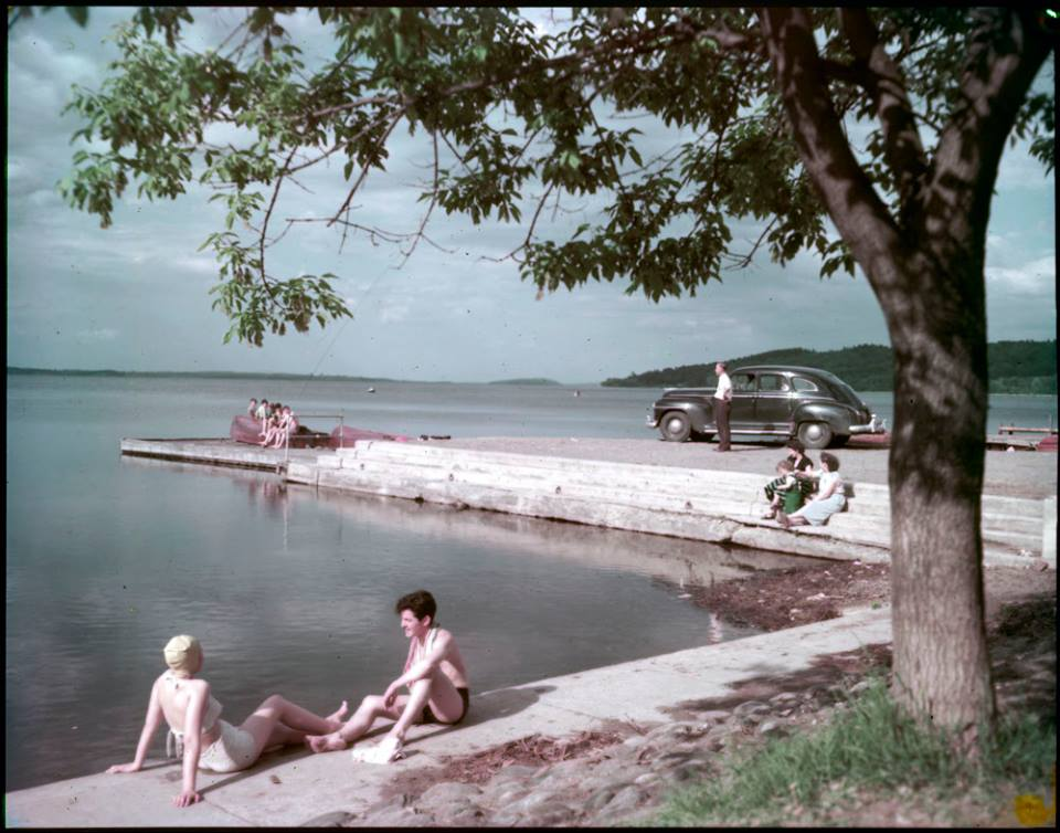 Rice Lake, 1950 ~ Archives Canada.
