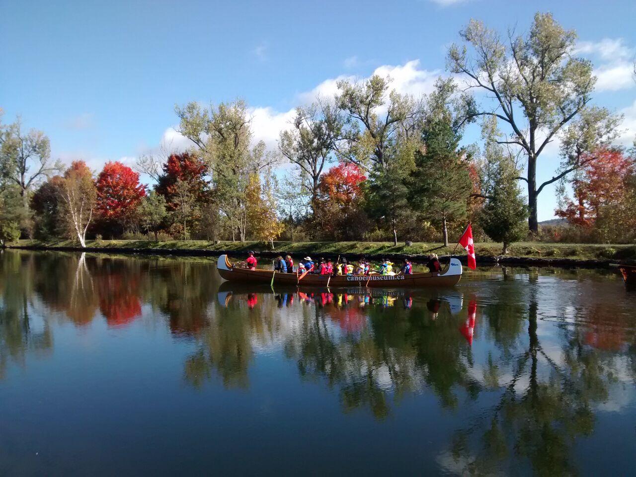Photo courtesy Canoe Museum