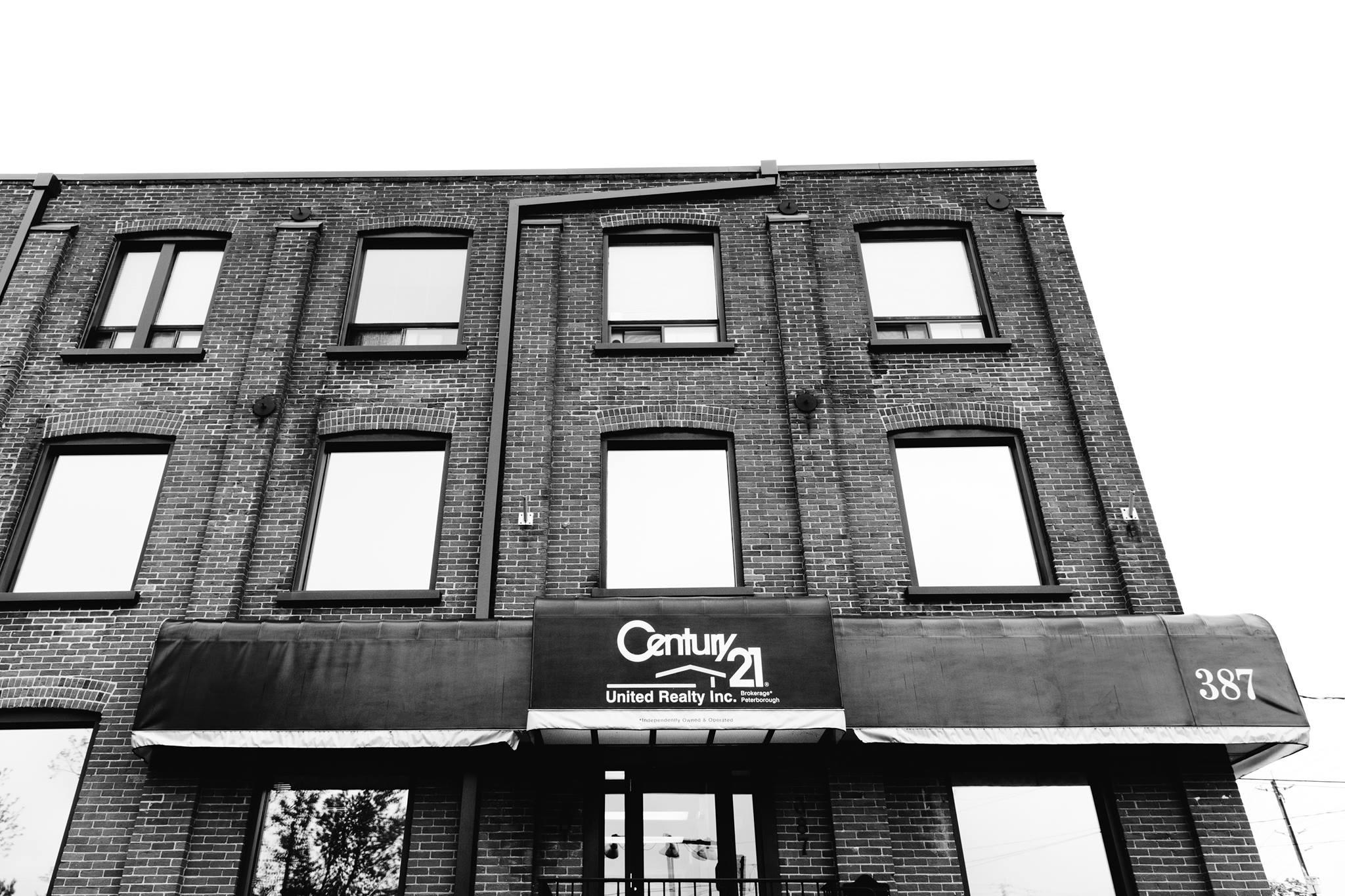 Century 21's headquarters in downtown Peterborough