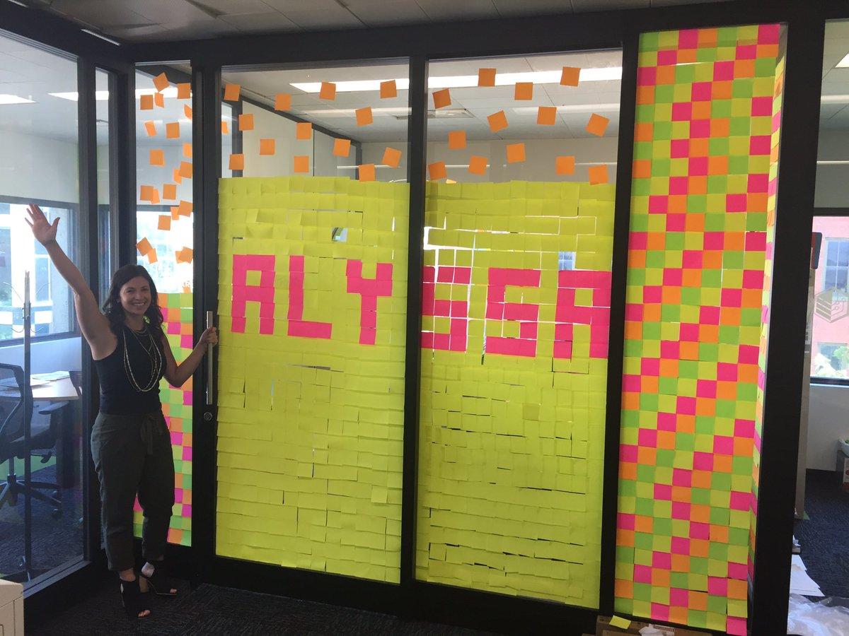 The birthday girl Alyssa