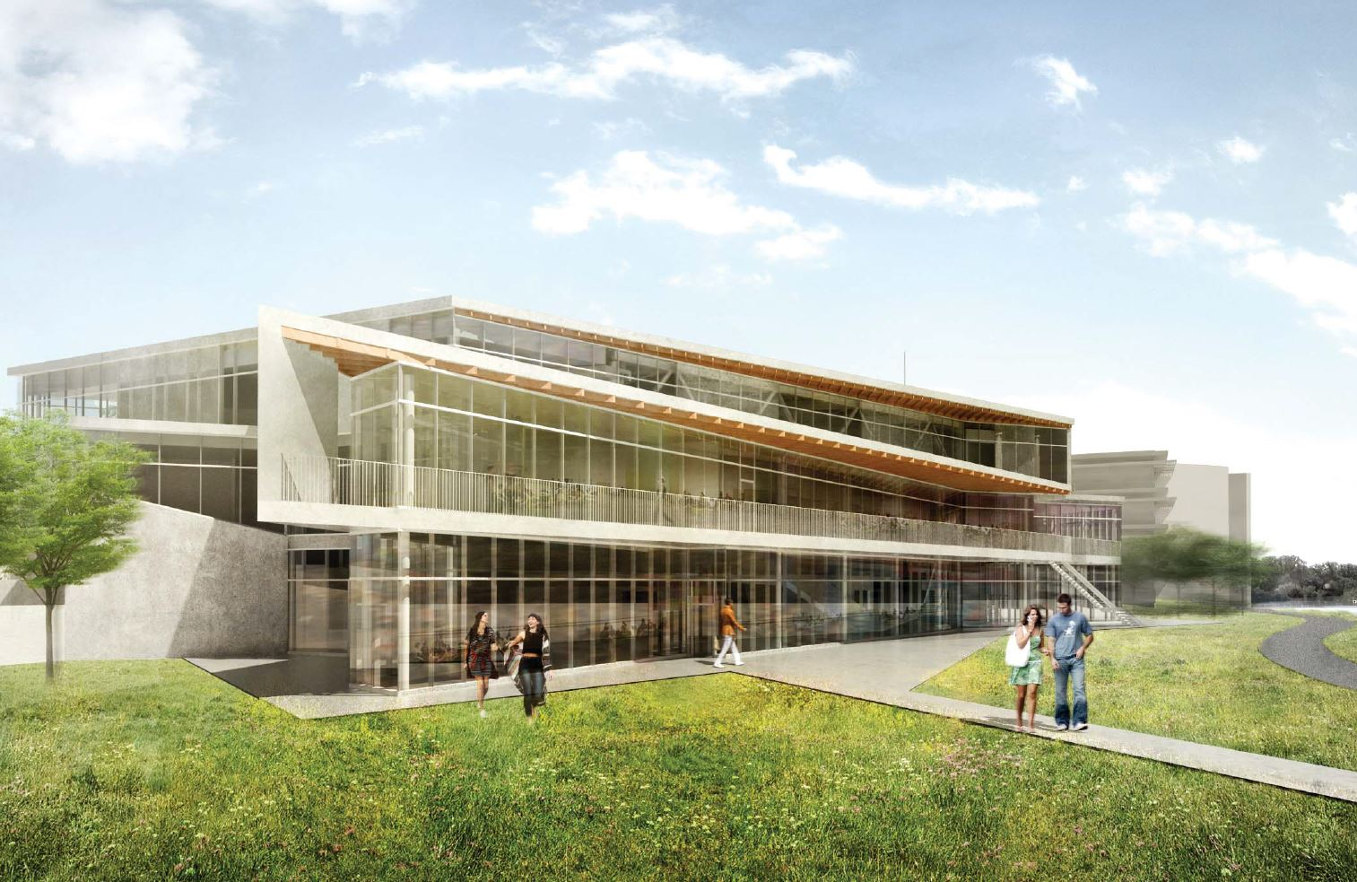 Student Centre rendering courtesy Trent University