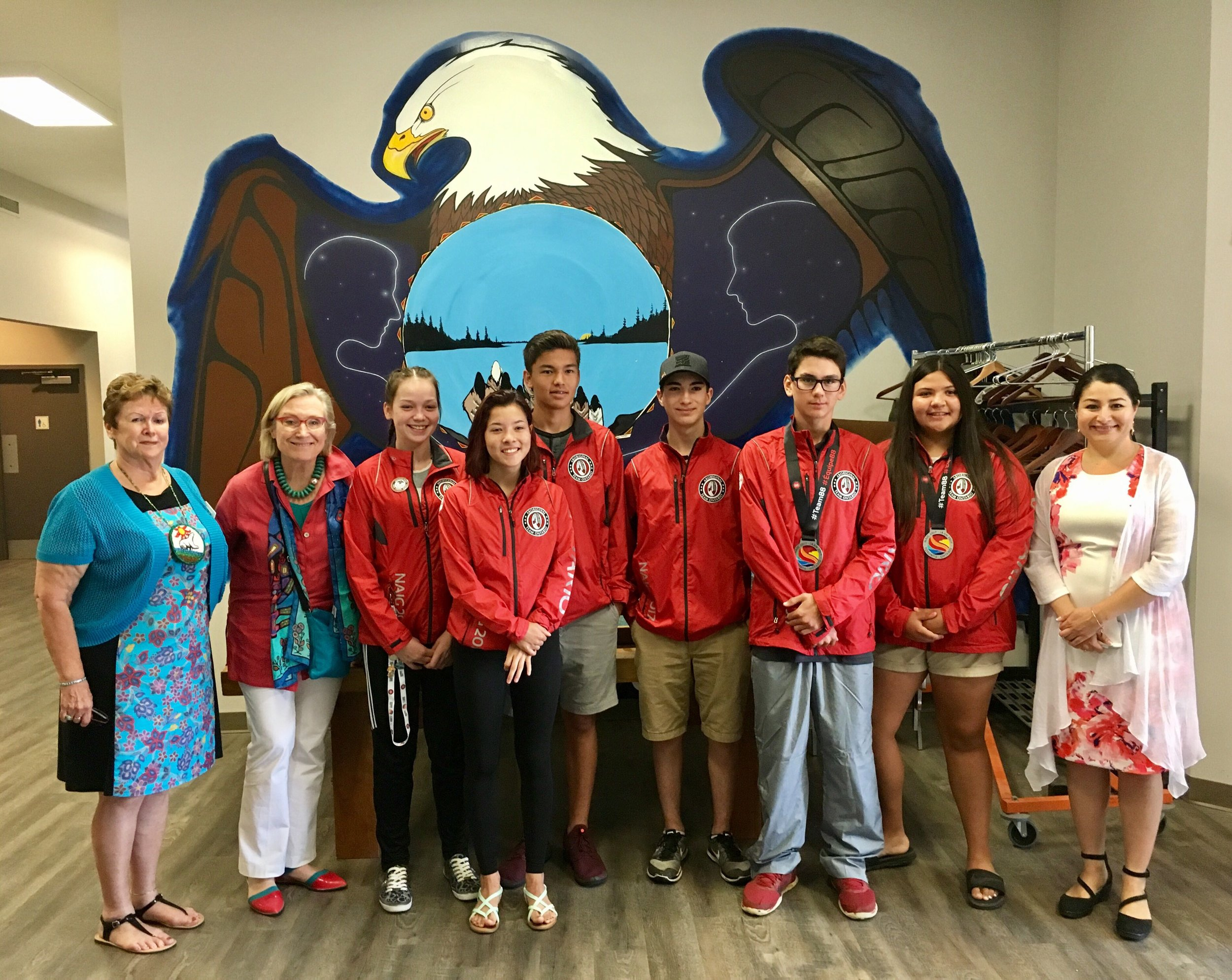 Local CLFN participants in the recent North American Indigenous Games