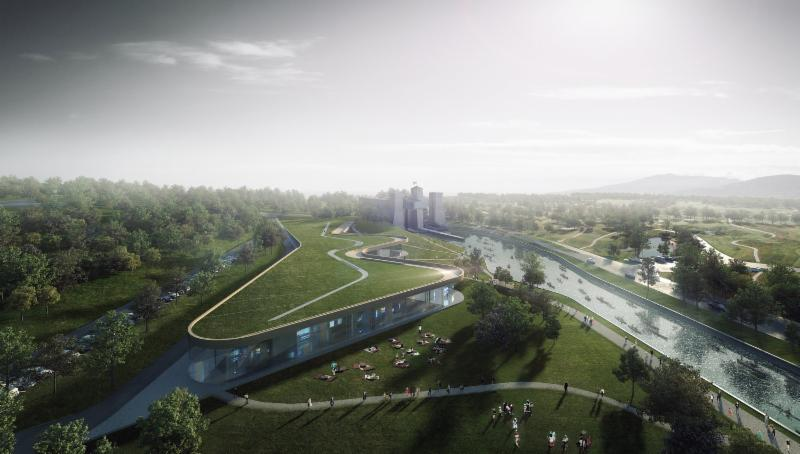 Rendering of new Canoe Museum