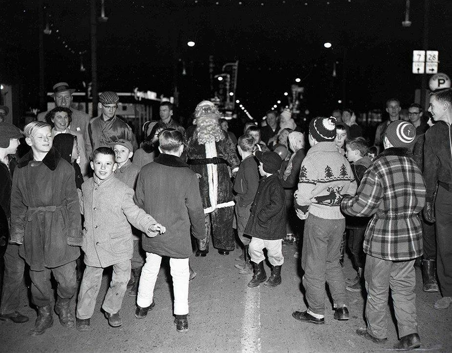 Photo from old parade in Peterborough courtesy Trent Valley Archives