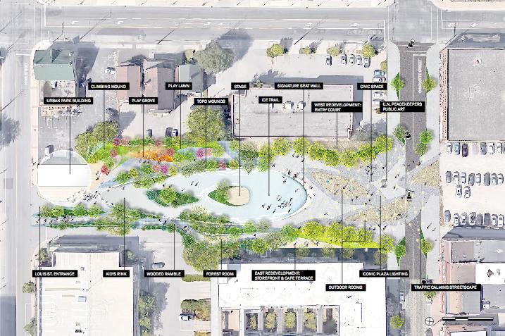 Urban Park Conceptual Plan