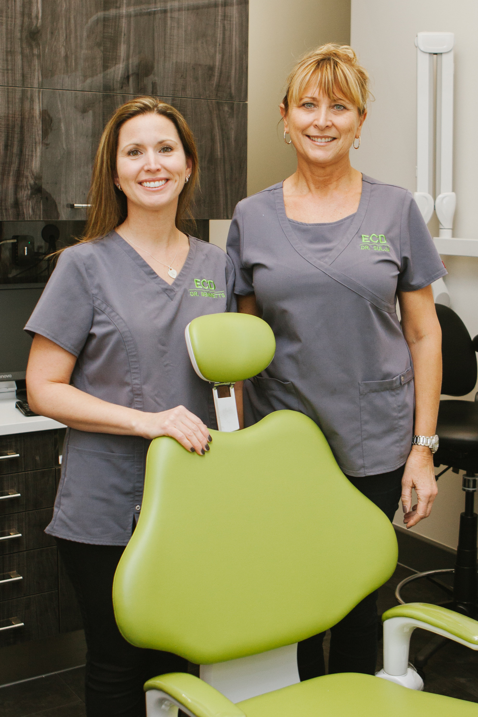 Left to right: Dr. Koren Bennetts & Dr. Verona Sulja (Photo by Tracey Allison Photography)