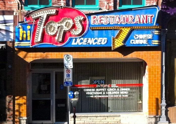 The Old Hi Tops restaurant