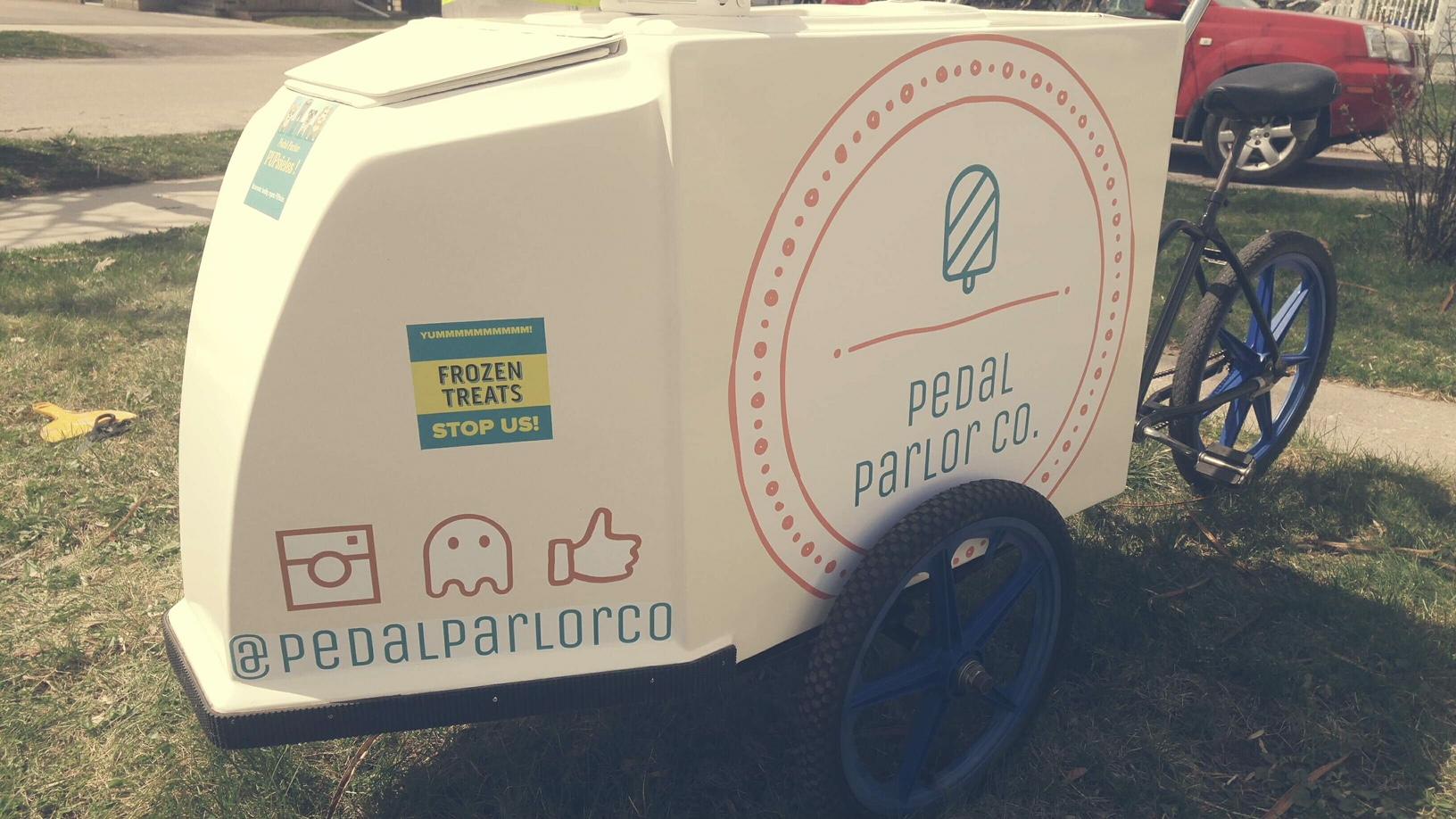 Nostalgic Peterborough Couple Launching Ice Cream & Popsicle