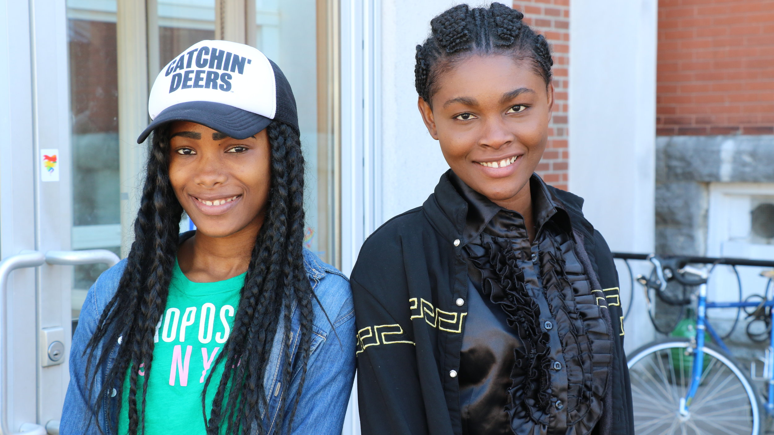 Aicha Cherif and her sister Bintou engage in life-enriching programs at the New Canadians Centre