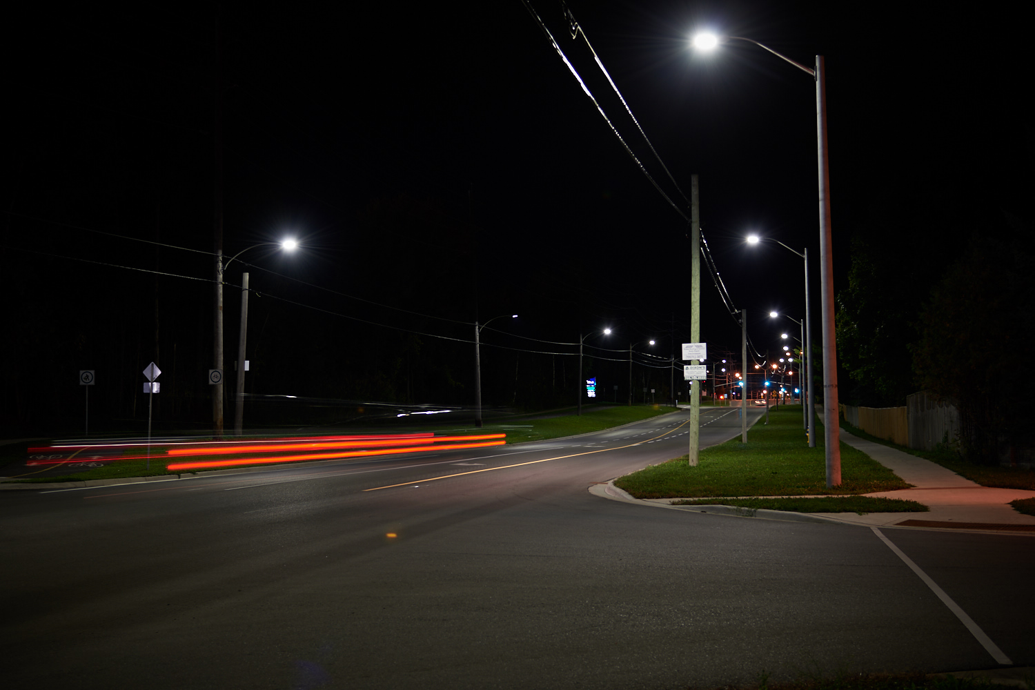 Most of the lights on Brealey have already been converted. Photo: Evan Holt