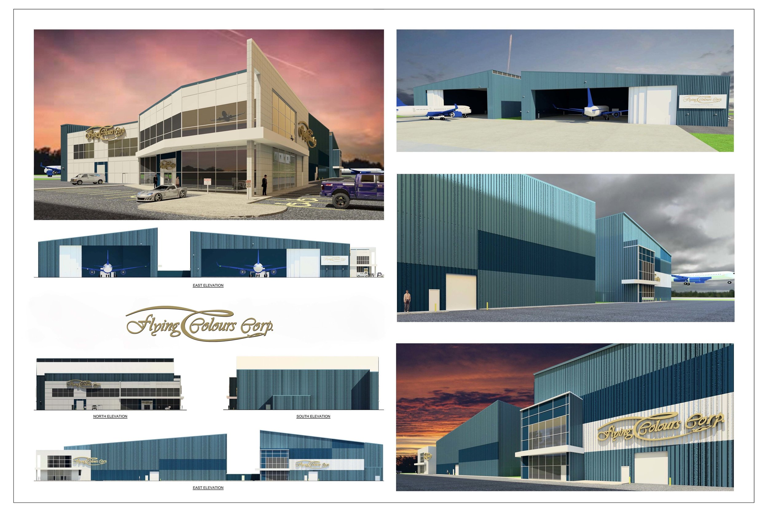Renderings courtesy Flying Colours