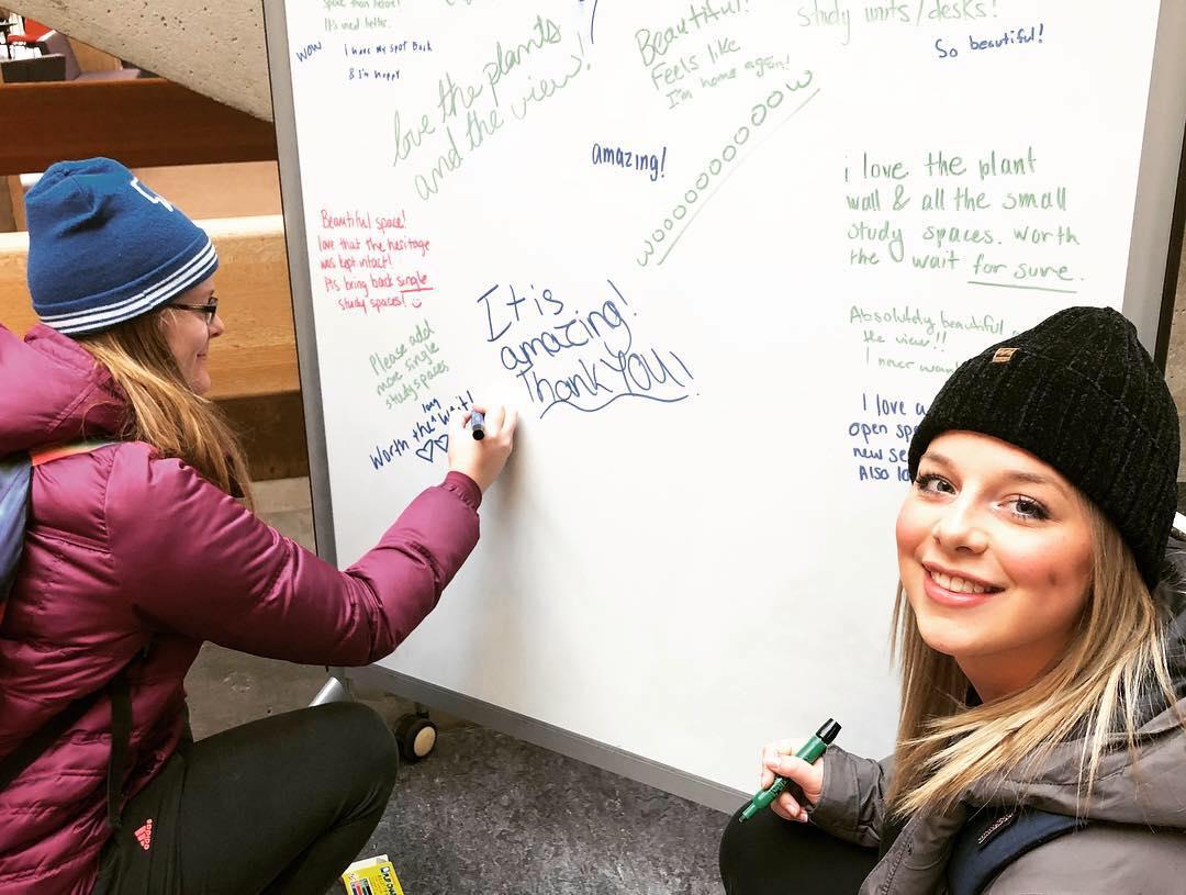 Photo via Trent University Alumni Association Facebook page