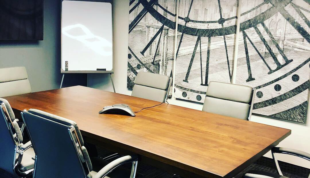 Gauvreau has beautiful client meeting spaces