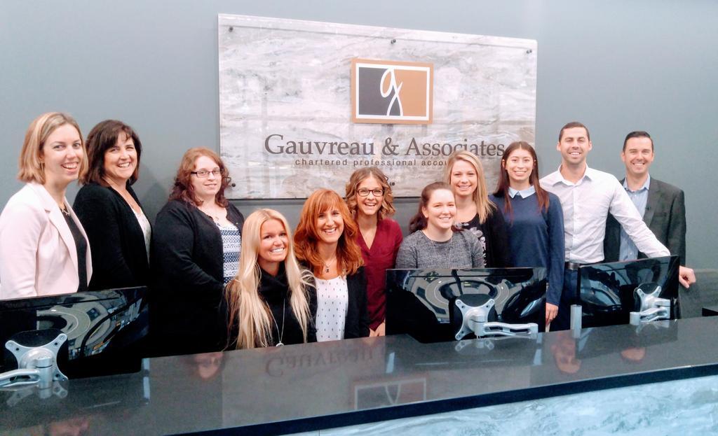 Gauvreau & Associates team in their new space