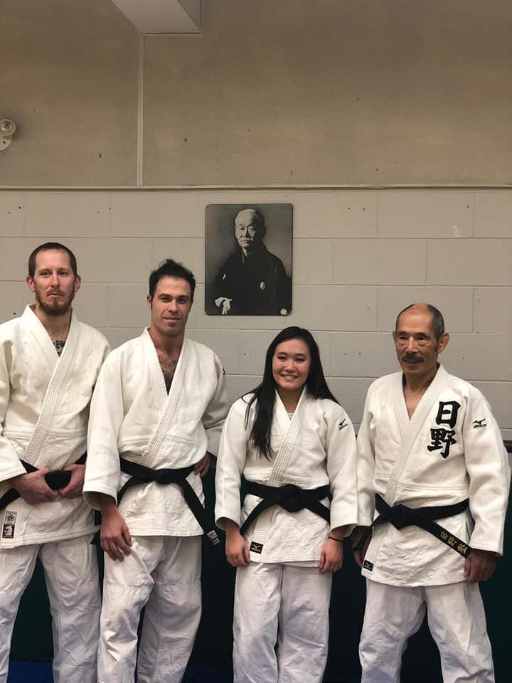 Left to right: Eric Guy, Paul Teleki, Sarah Miller & Tom Hino