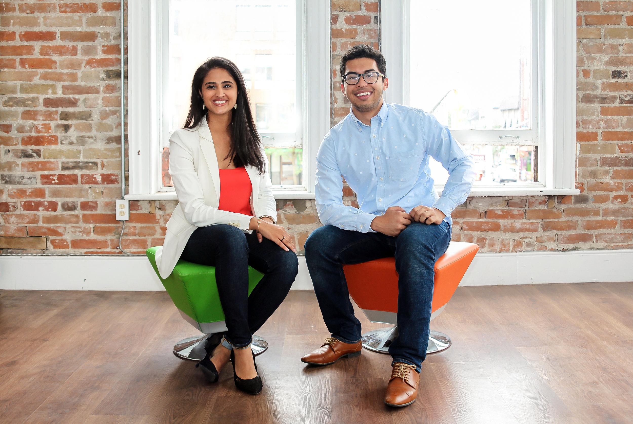 Ribitt Co-Founders Sana Virji & Ribat Chowdhury