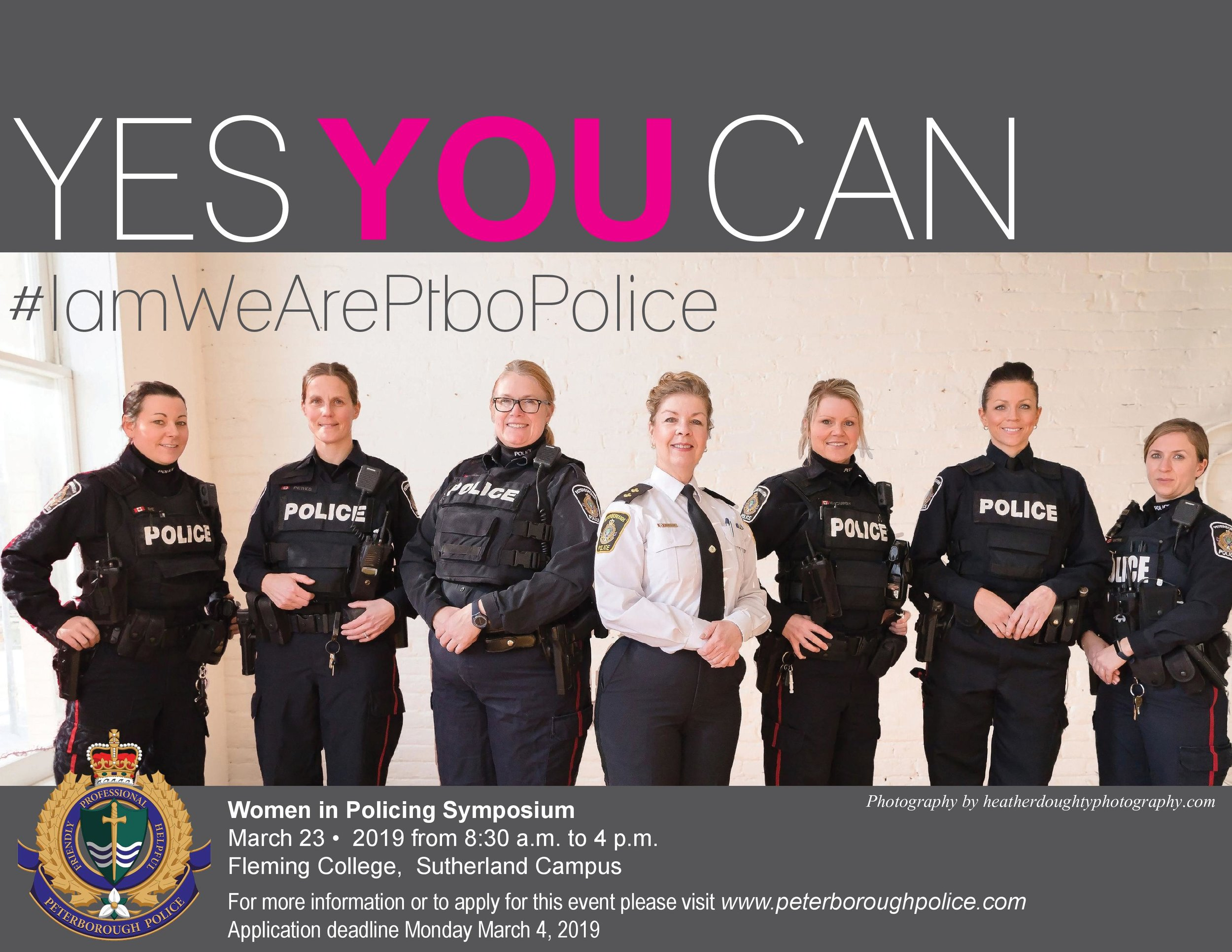 Poster courtesy Peterborough Police Service