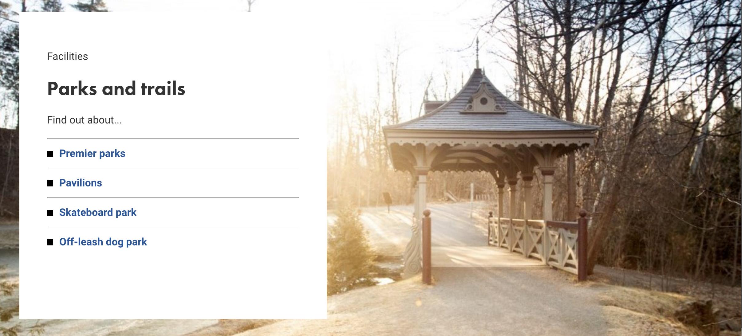 Screengrab via Peterborough.ca website