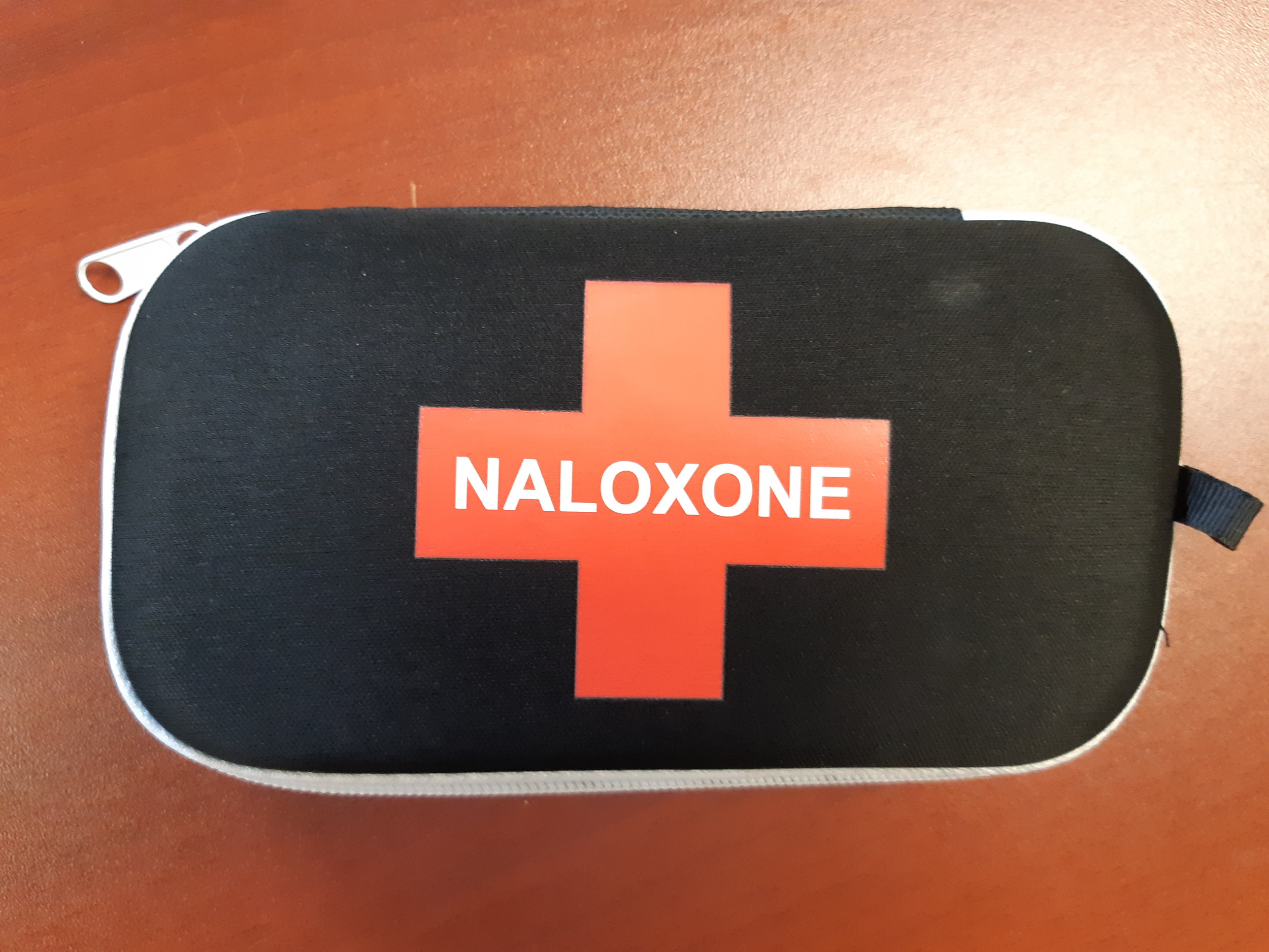 Photo of Naloxone kit courtesy DBIA