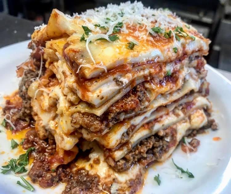 Taso's 8-layer lasagna