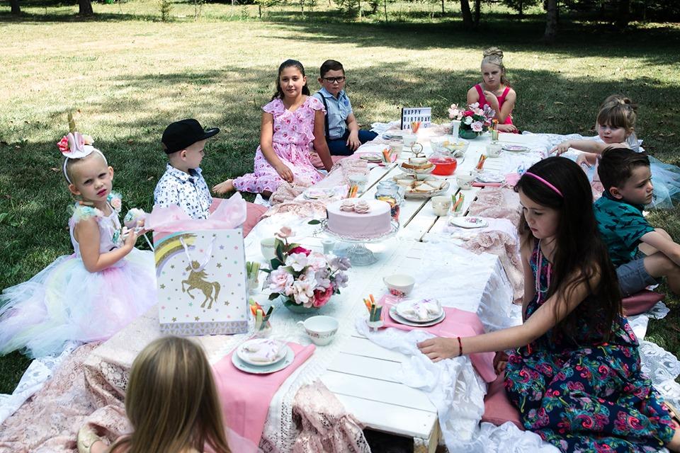 Sweet Pea Tea Party