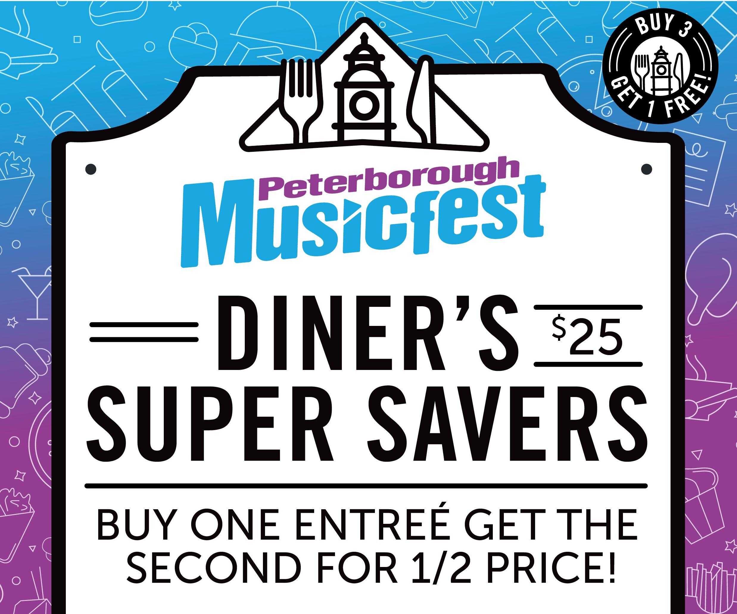 Peterborough Musicfest Diner S Super Savers Go On Sale Black Friday Ptbocanada