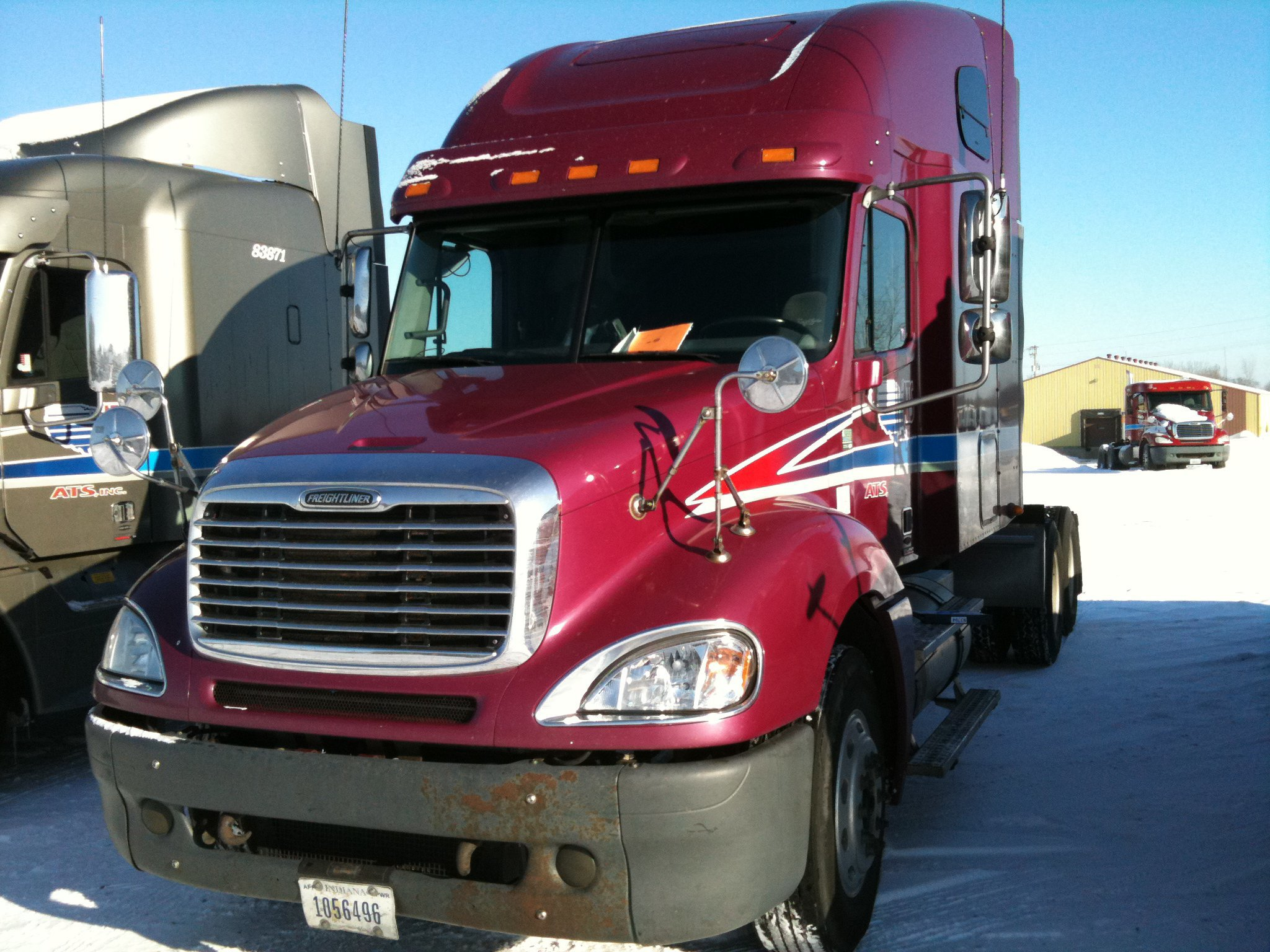 The first truck I leased. 2007 Freightliner Columbia.