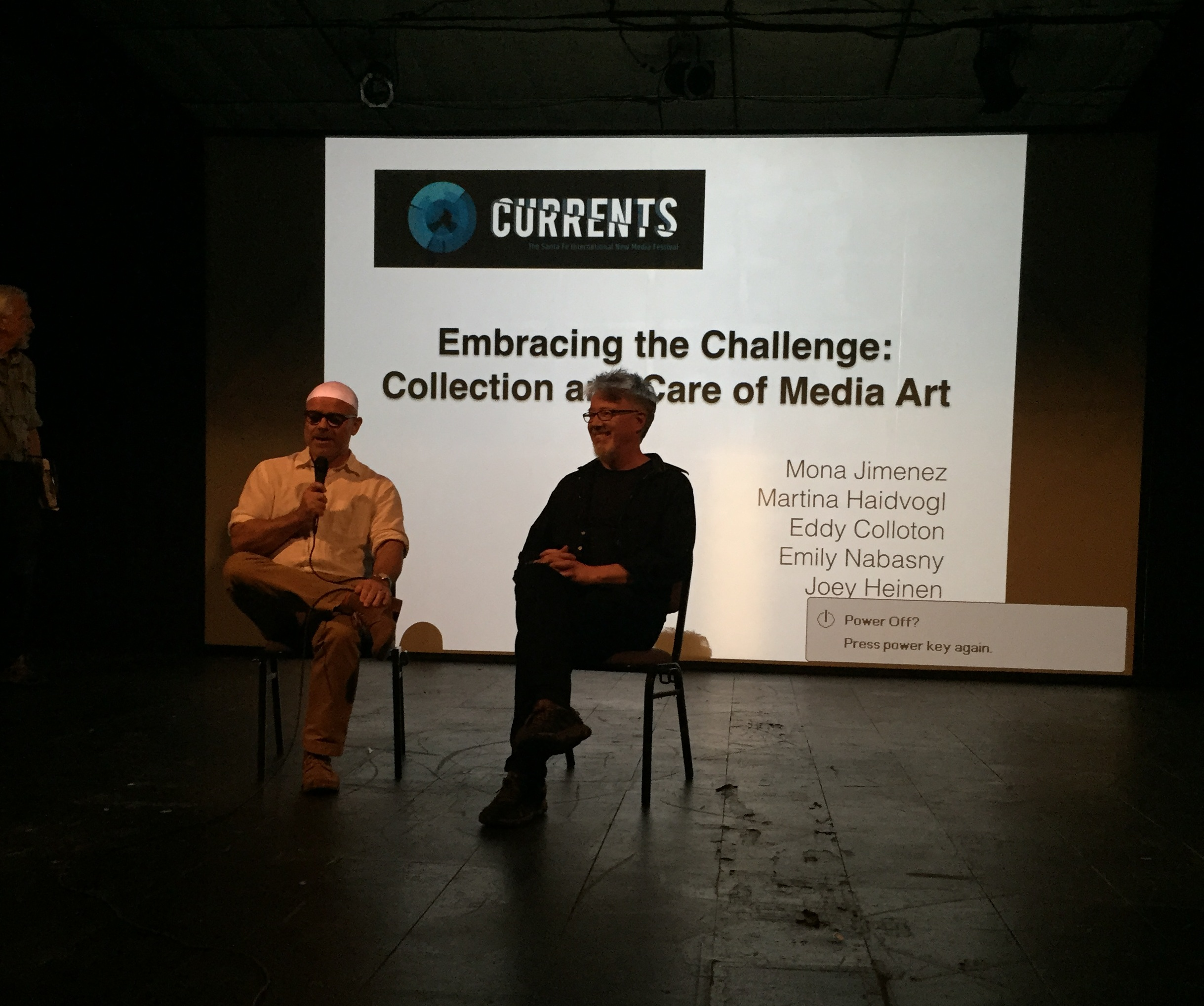(left to right) Richard Rinehart and David Stout