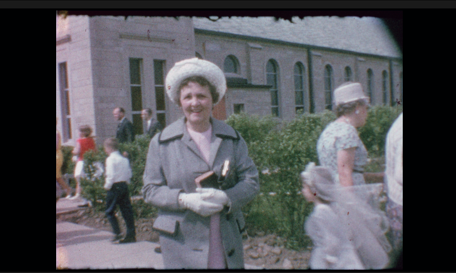 Color corrected image (of my great-grandmother)