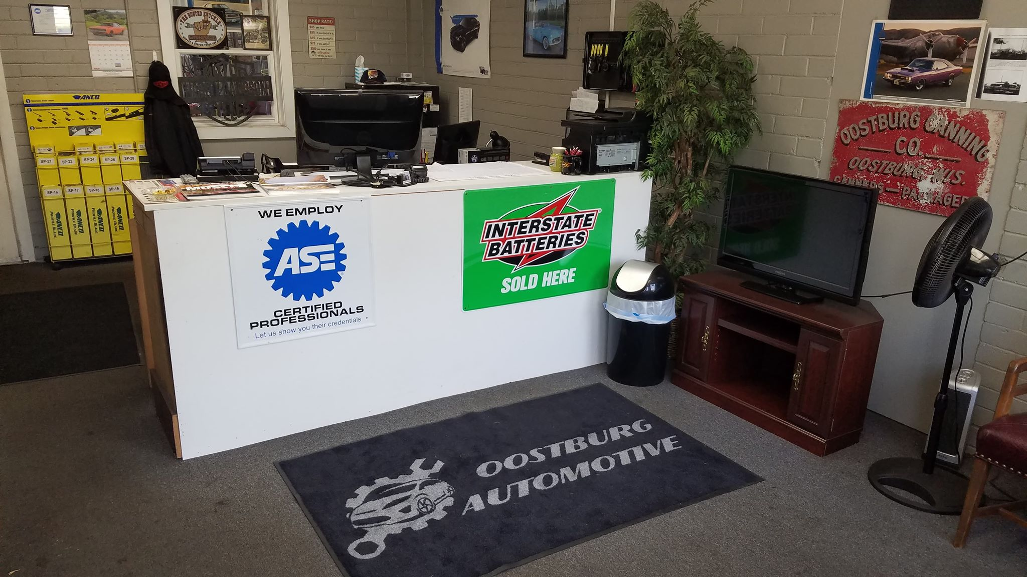 Welcome to your hometown, family friendly, Full service Automotive shop!