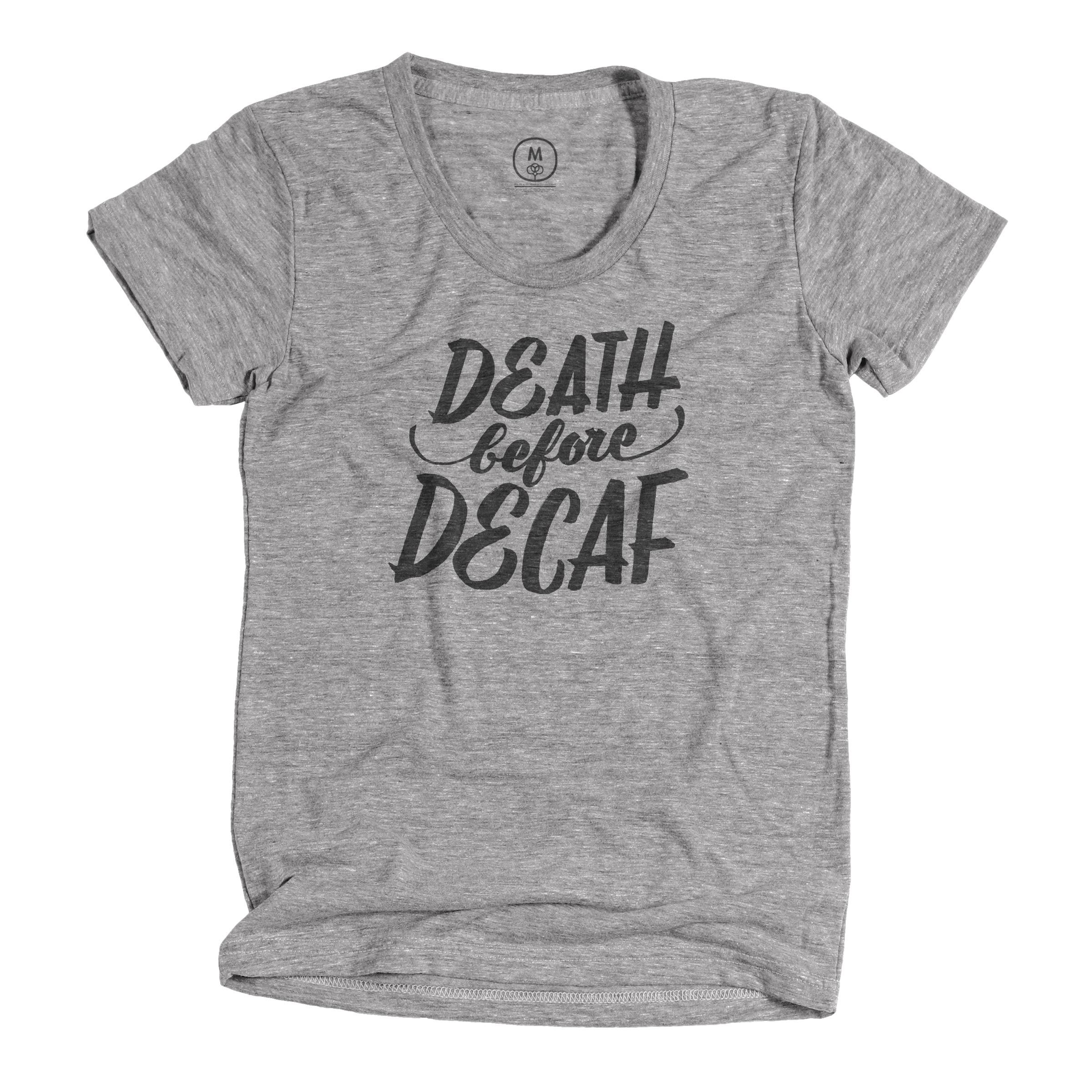 Oh, dang! Guess who's back? Only the softest, coolest coffee shirt EVER. Click through to get yours!