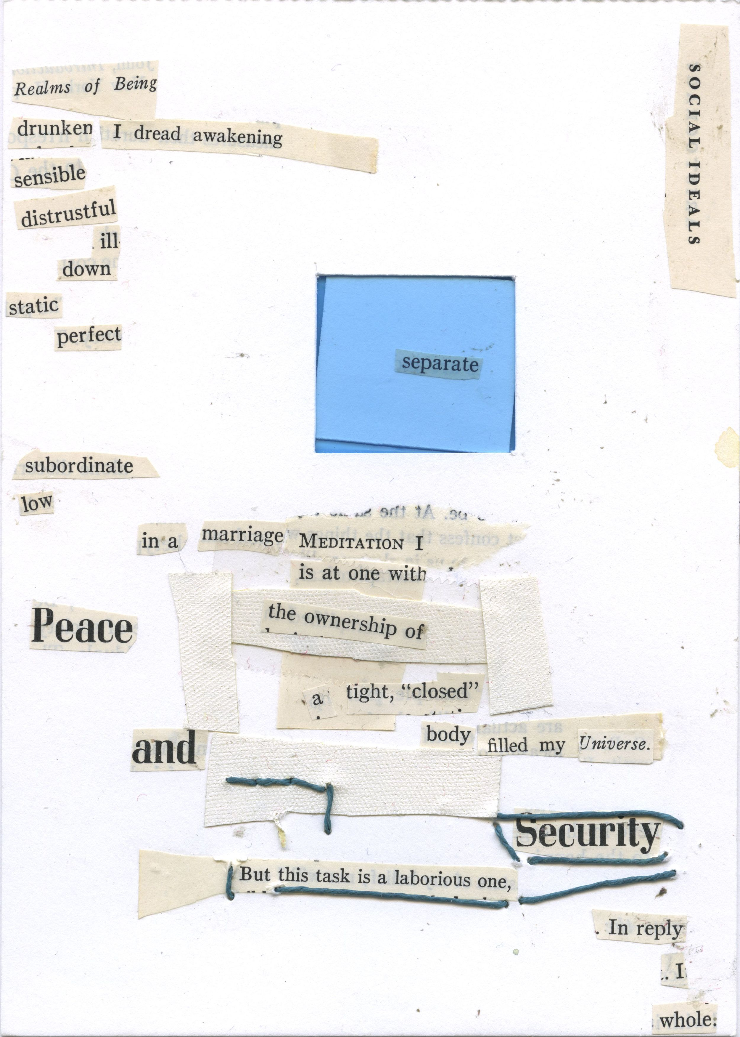 Peace and Security  (2014)