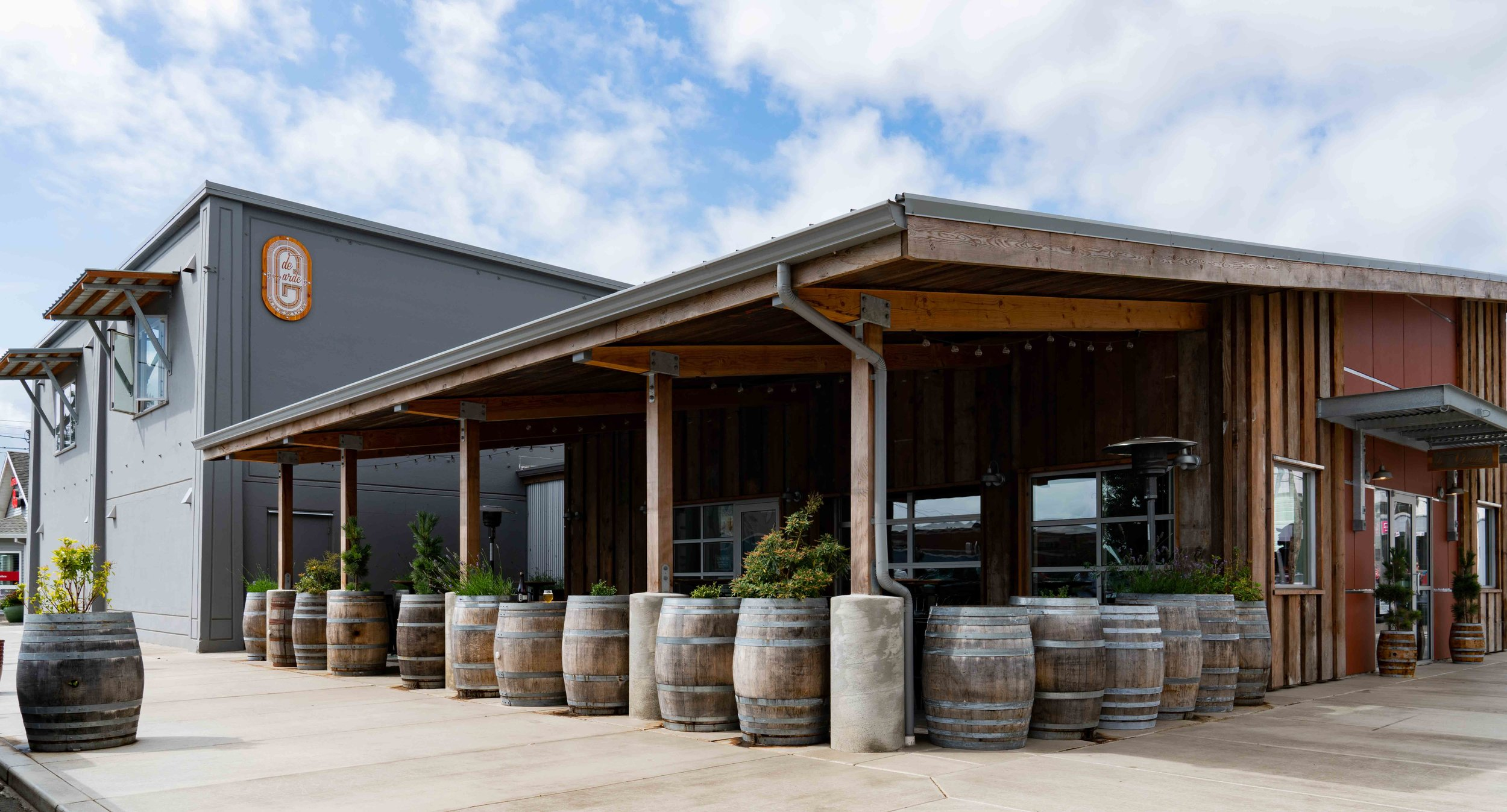 The brand new de Garde brewery and tasting room