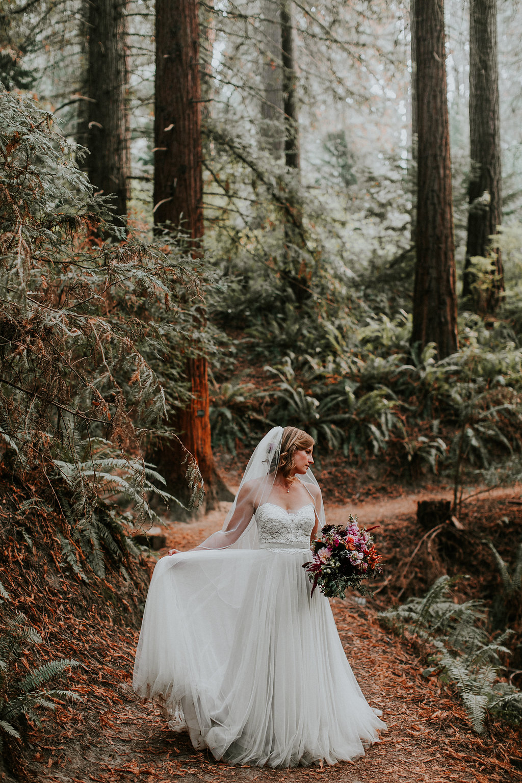 Hoyt Aboretum wedding flowers