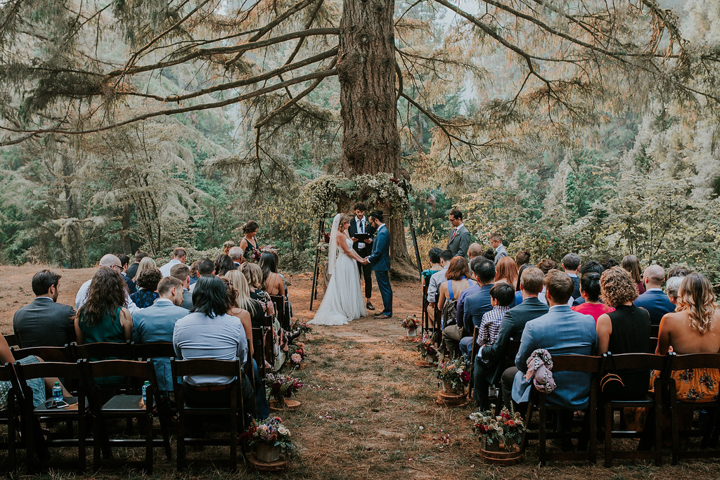 Wedding flowers at the Hoyt Arboretum