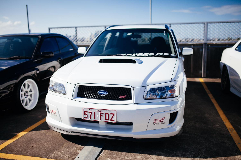 Subaru Forrester STi.